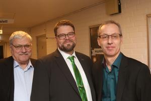 Sture Johansson, Anders Wigelsbo och Anders Westin.