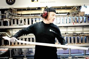 Skidfabriken i Åre bygger ut produktionsytan med 50 procent genom en tillbyggnad på 350 kvadratmeter. Foto: Emma Simonsson