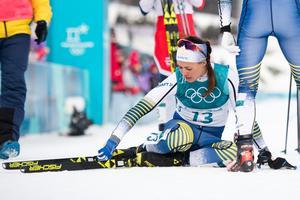 Anna Haag slutade 32:a i skiathlonen. Bild: Joel Marklund/Bildbyrån