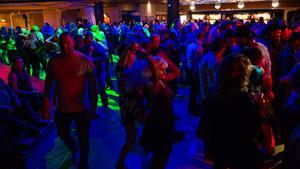 ...medan andra hade fullt upp med att dansa.