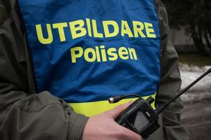 Utbildare fanns på plats i Ludvika för att drilla den regionala insatsstyrkan.