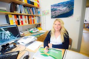 Planarkitekt Erika Flygare har jobbat med Bruksklubbens detaljplan sedan Gamla Byn köpte fastigheten för nio år sedan.