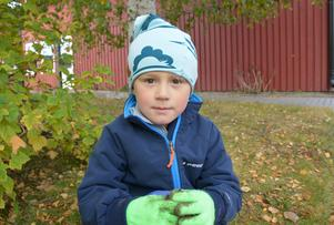 Oliver Lauro, 5 år, Spelevinkens förskola i Bergsåker
