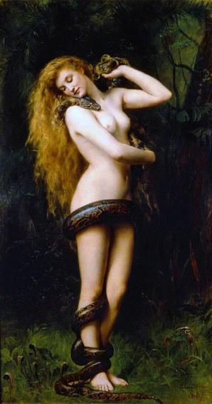 Nattdemonen Lilit omnämns redan i det 4 000 år gamla mesopotamiska eposet