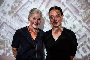 Angelica Ekholm och Pernilla Wåhlin Norén tycker det är bra att starta en medborgardialog kring arkitektur.