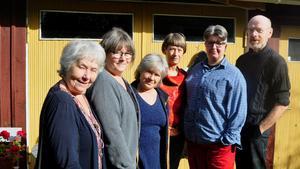 Birgit Söderström-Rosén, Margareta Hafstad, Metta Reuterswärd, Åsa Ganell, Gitte Orb och Christer Widegren ställer ut tillsammans i Järpens kulturhus mellan den 26 september-3 oktober.
