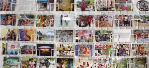 Monika Marklinger har skapat vykort av egna fotografier från Tahiti.