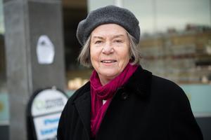 Ingrid Marklund, 65+, pensionär, Sundsvall.