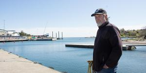 Dick Tillberg är yrkesfiskare i Grisslehamn. Hans fångster av torsk har minskat med 97 procent sedan 1980-talet.