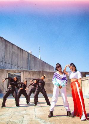 Unruly Gang, Imenella och Linda Pira. Bild: facebook.com.