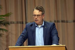 Ulrik Bergman (M) har skrivit motionen om att skapa ett Fontänhus i Borlänge.