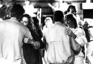 Yranpubliken dansade till långt in på nätterna under Yran 1986.