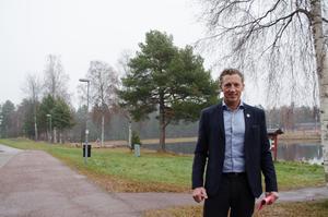 Jonas Rosén har varit vice ordförande för Vasaloppet, men han lämnade nyligen uppdraget eftersom han såg risker för jäv när han blev vd för Visit Dalarna.