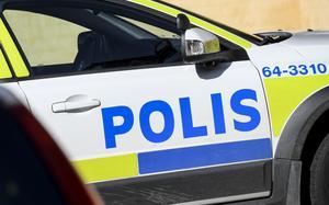 Polisen grep en bedragare på Jula.
