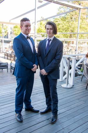 Erik Nordell och David Huss, ESM16 på Rytmus.