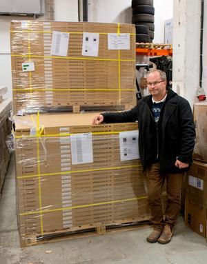 Ett nytt inslag är att Pontus Björklin nu även satsar på att sälja solcellsanläggningar.