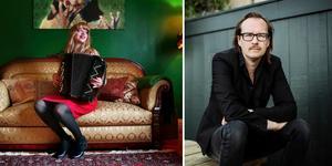 Ulrika Mohlin, eller Mohlavyr och Matti Ollikainen från Den franska trion Fotograf: Veronika Ljung-nielsen/TT