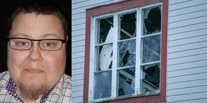 Emil Landén märkte explosionen fast han bodde några hus bort. Hans fönster var dock hela till skillnad från de som fanns i huset där sprängningen genomfördes. Foto: Privat/Ingmar Reslegård