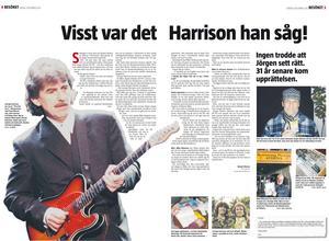 Östersunds-Posten den 8 december 2007, då artikeln ursprungligen publicerades.
