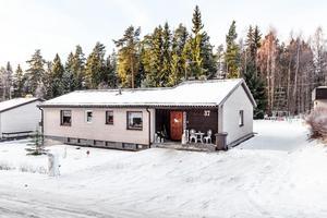På plats sju på Klicktoppen förra veckan var denna villa på Ekvägen i Falun, med 6 229 klick.Foto: Kristofer Skog/Husfoto