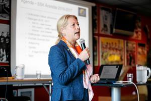 Catharina Elmsäter-Svärd är ordförande för Södertälje SK.