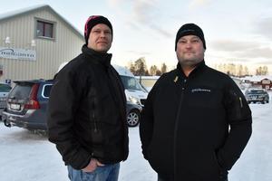 Sven-Olof Larsson och Anders Grubb berättar om helgens gripande på vägen mellan Lillhärdal och Älvdalen.