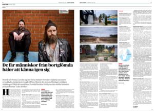 Faksimil Dagens Nyheter 3/5.
