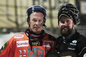 Ville och Jussi Aaltonen på Sävstaås under förra säsongen. Nu ställs de mot varandra igen i Motala.