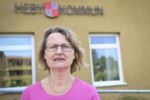 Foto: Julia Engström/Arkivbild   Marie Wilén (C), kommunstyrelsens ordförande i Heby.