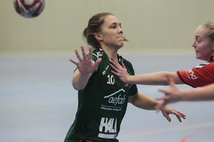 Amanda Hanning gjorde fyra mål mot Uppsala.