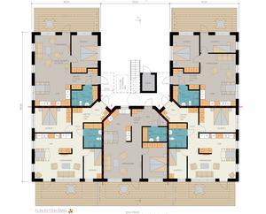 Så här ser planritningen ut för bottenvåningen. Planritning:PE Teknik & Arkitektur/Tom Sakofall