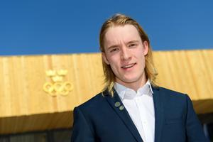 Sebastian Samuelsson är fortfarande junior och han hoppas på en fullträff i OS.