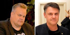 Niclas Bodin och Hans Johansson (C) i Säter.