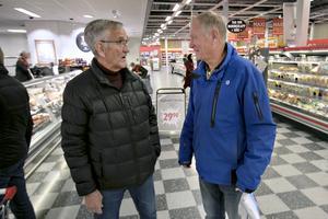 Hans Sundberg träffade på gamla jobbarkompisen Malte Söderholm.