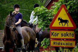 Det får man väl avväga mot att barnen går miste om att höra ljudet av hästhovar en stilla sommardag, skriver signaturen.