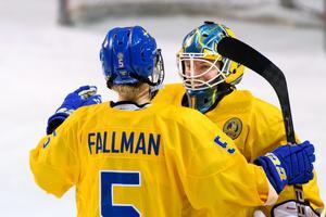 Sara Grahn och Sverige gick vinnande ur OS-genrepet. Foto: Carl Sandin (Bildbyrån).