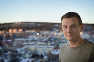 GIF Sundsvalls nye assisterande tränare Andreas Pettersson kan blicka ut över staden från sin balkong på Södermalm.