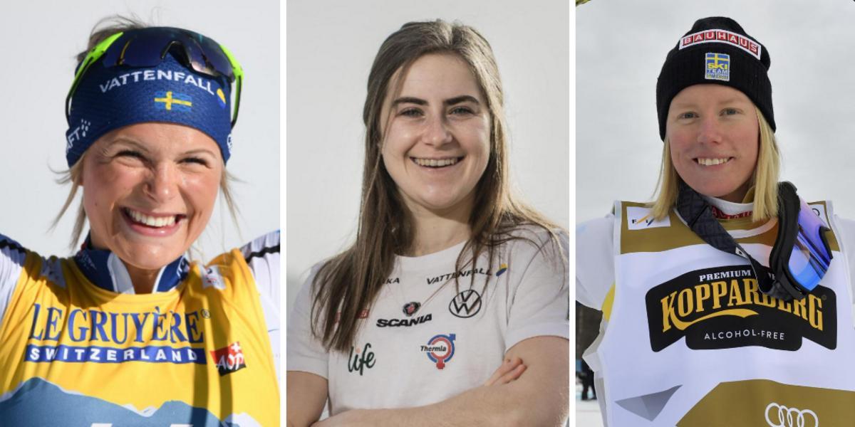 Skidförbundet presenterade flera landslagstrupper – här är de uttagna ångermanlänningarna inför OS-året