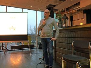 Under onsdagsmorgonen arrangerade Centrala Stadsrum ett möte i Bergströms Galleria som en del av Faluns företagarvecka som pågår.