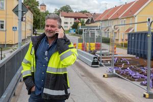 Magnus Andersson, produktionschef på Arboga kommun.