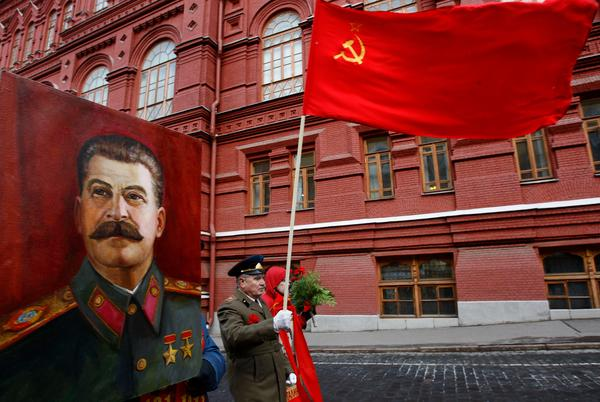 Stalin var ingen mysfarbror.Foto: AP