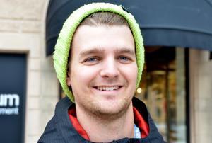 Christoffer Ahlström, 25 år, processingenjör, Timrå.