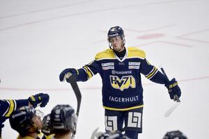 Jesper Kokkonen gjorde två mål i HV:s storseger.
