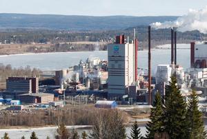 SCA satsade nyligen åtta miljarder kronor på Östrands massafabrik i Timrå.