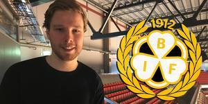 Lukas Zetterberg firade sin 22-årsdag med att skriva på för Brynäs IF.