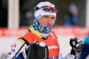 Johan Olsson inför längdpremiären i finska Ruka 2016.