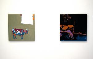 Målningar ur BrittMarie Järnström Lindells serie