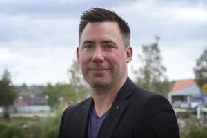 Teknik- och fritidsnämndens ordförande Daniel Didricksson (L).