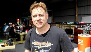 Klas Brink, arrangör av Västerås Summer Meet.  Foto: Jonas Löfvenberg