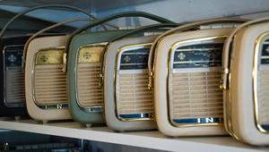 Transistorapparaterna var ofta praktiskt utformade, för att lätt kunna bära med sig.